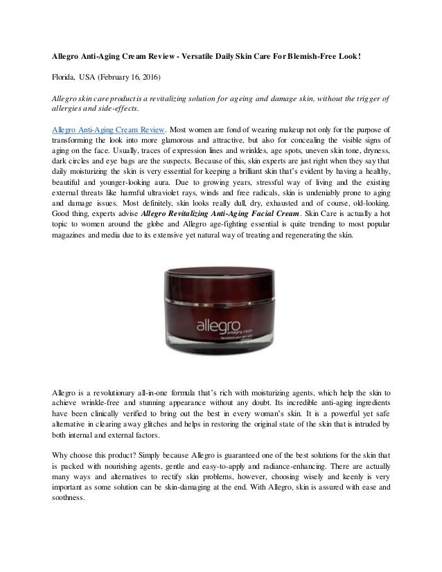 anti aging skin cream reviews