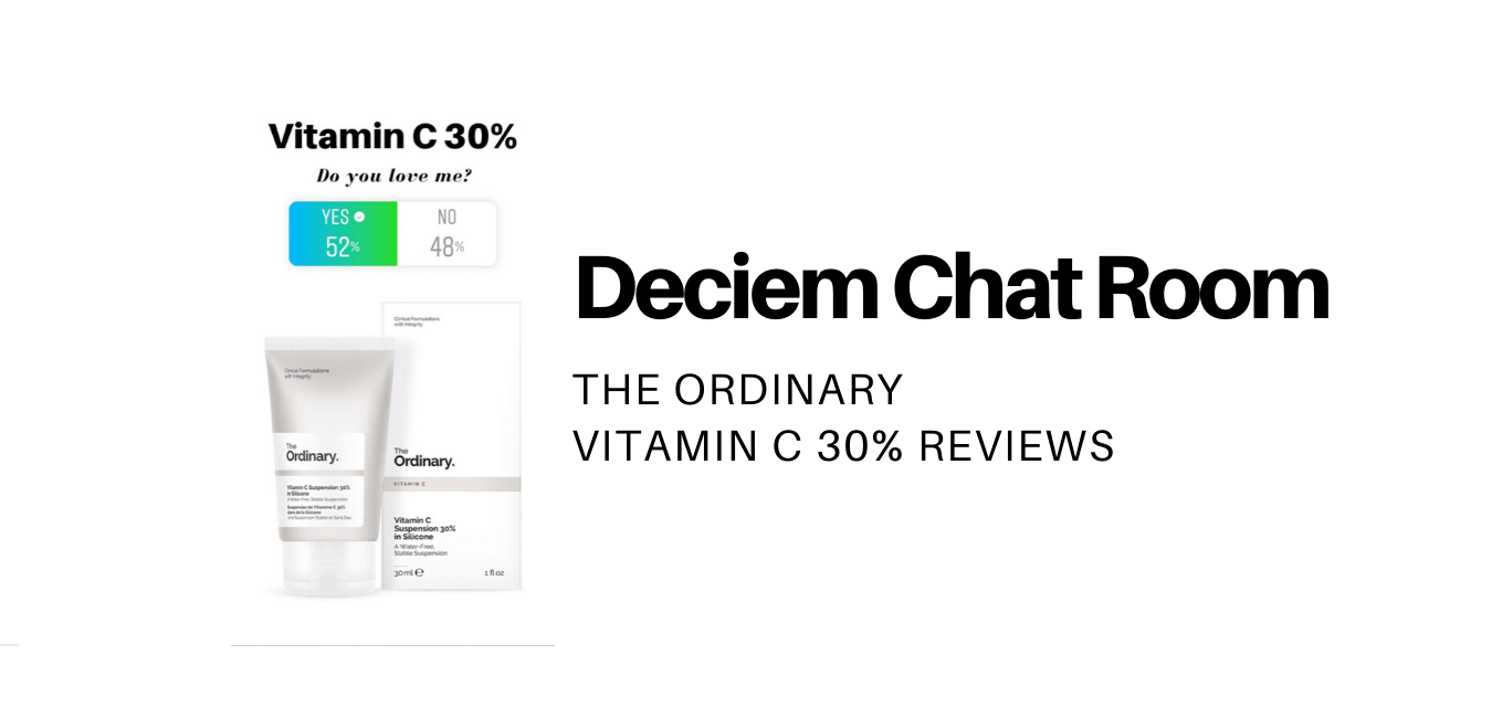 the ordinary vitamin c 30 review
