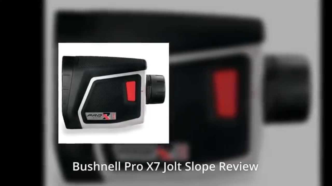 bushnell pro x7 jolt slope laser rangefinder reviews