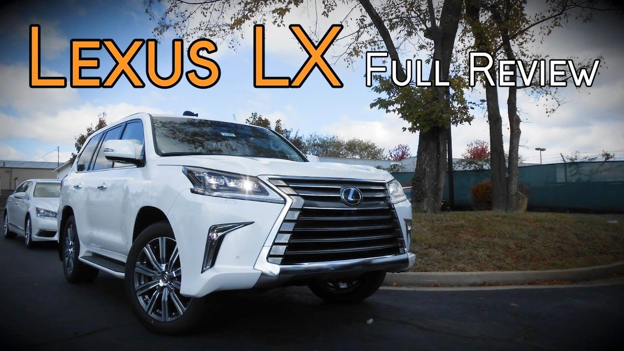 2017 lexus lx 570 review