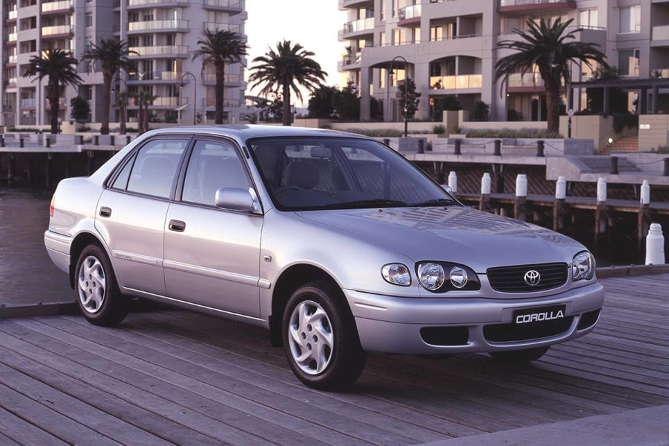 2001 toyota corolla ascent review