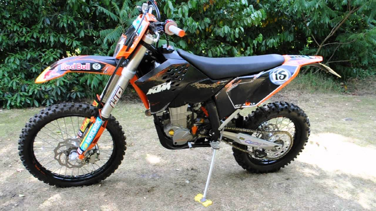 2009 ktm 450 exc review