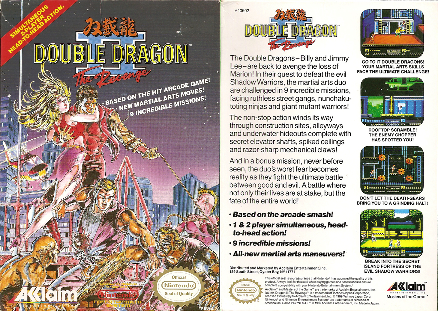 double dragon 3 nes review