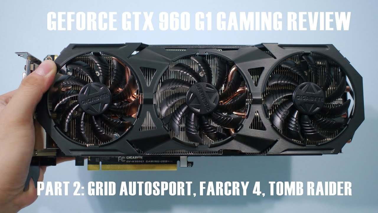 gigabyte geforce gtx 960 4gb review