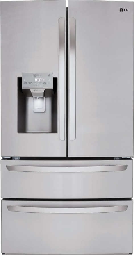 lg 613l french door refrigerator review
