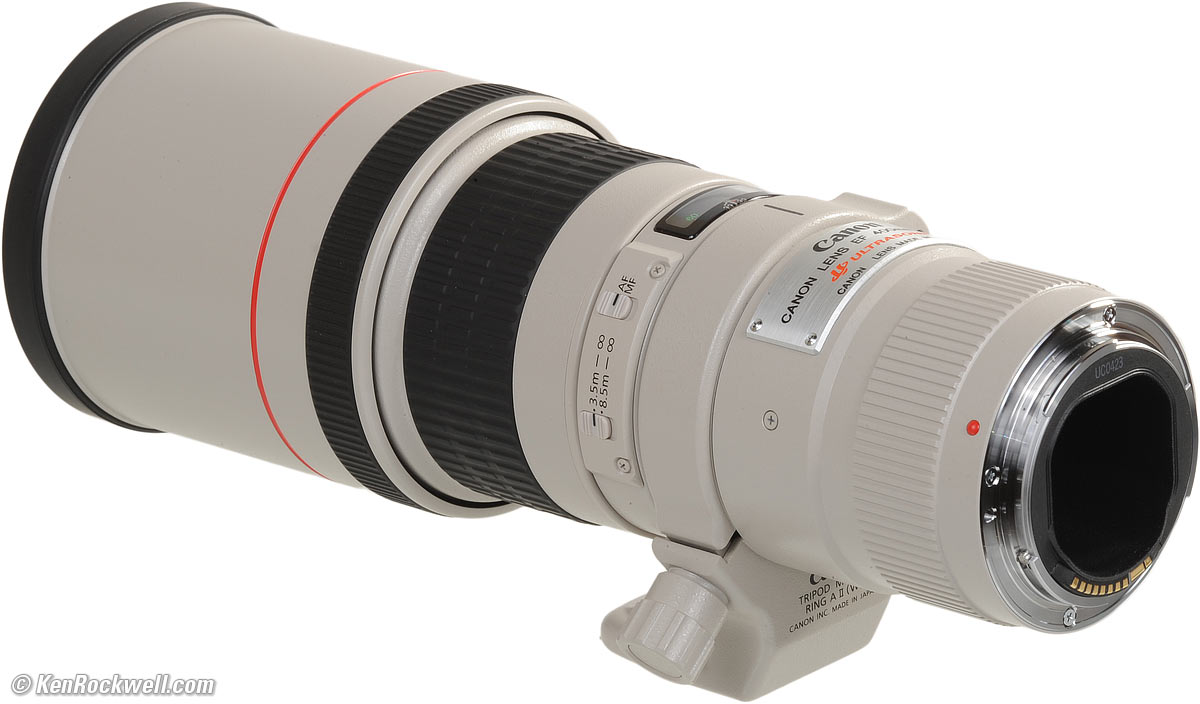 canon 400mm f5 6 review