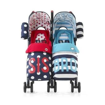 cosatto bro and sis double buggy reviews