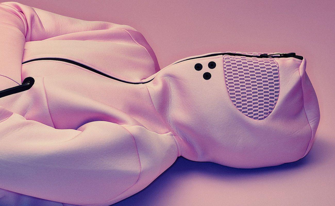 baker miller pink hoodie review