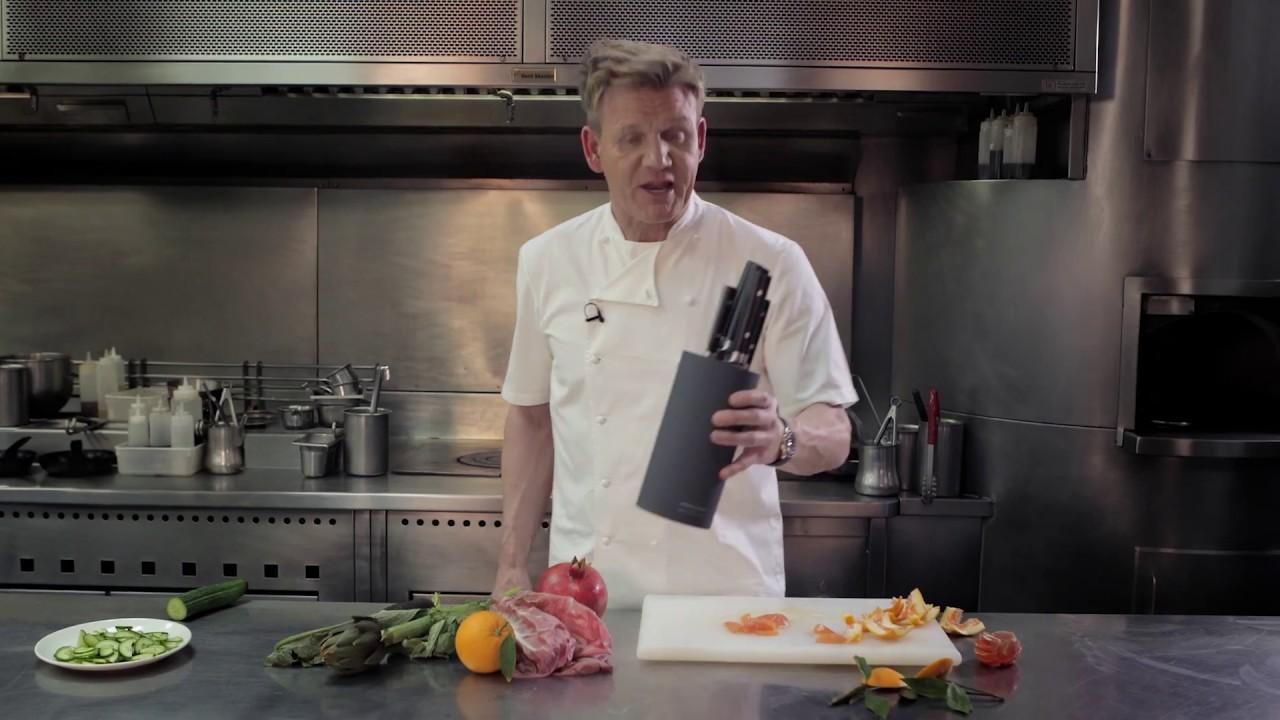 gordon ramsay knife block set review