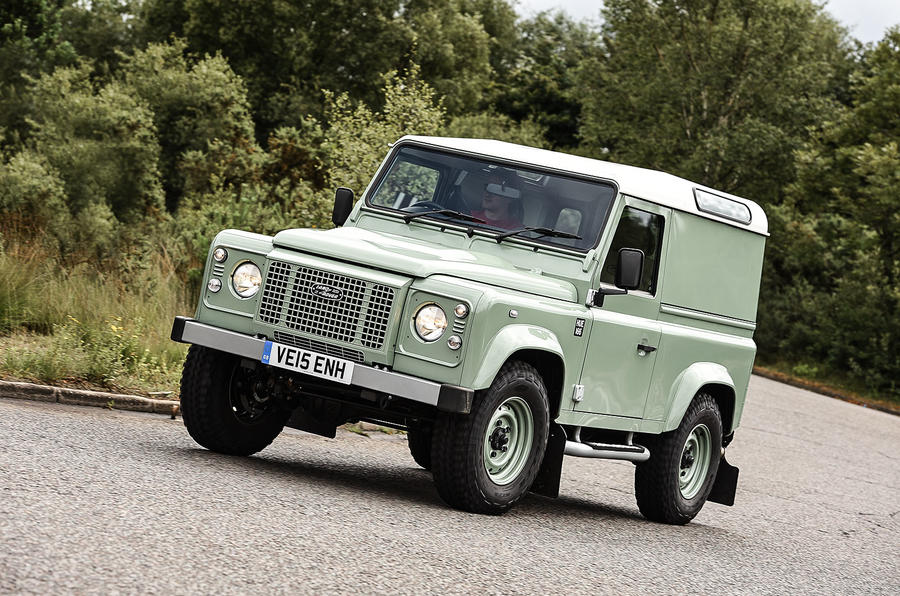 2015 land rover defender 90 review