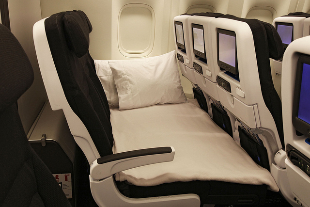 air new zealand economy skycouch review