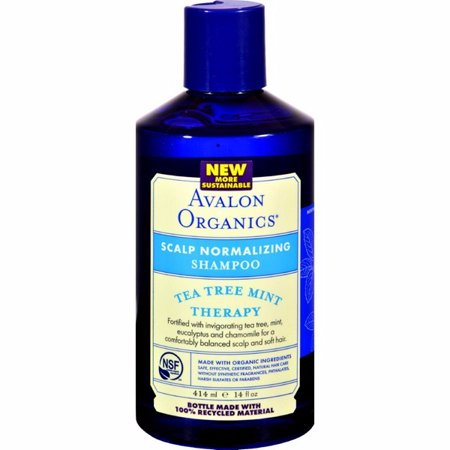 avalon organics shampoo tea tree scalp treatment review
