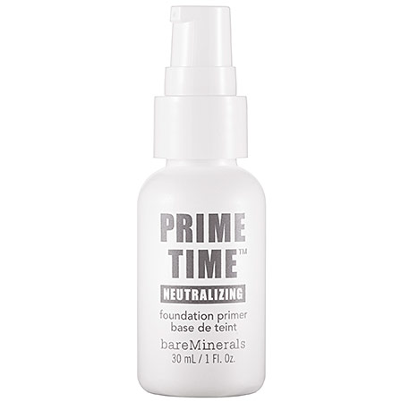 bareminerals prime time foundation primer review