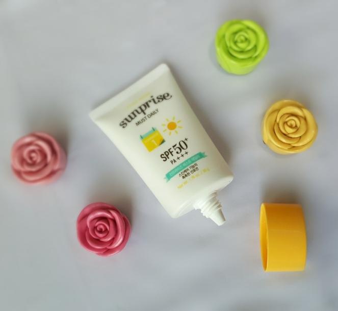 etude house sunprise sunscreen review