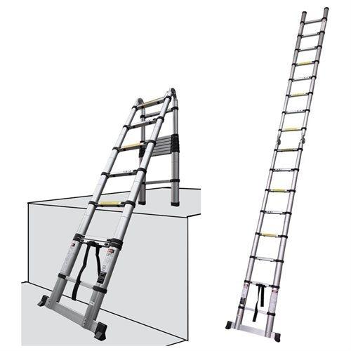 12.5 telescoping aluminum extension ladder reviews