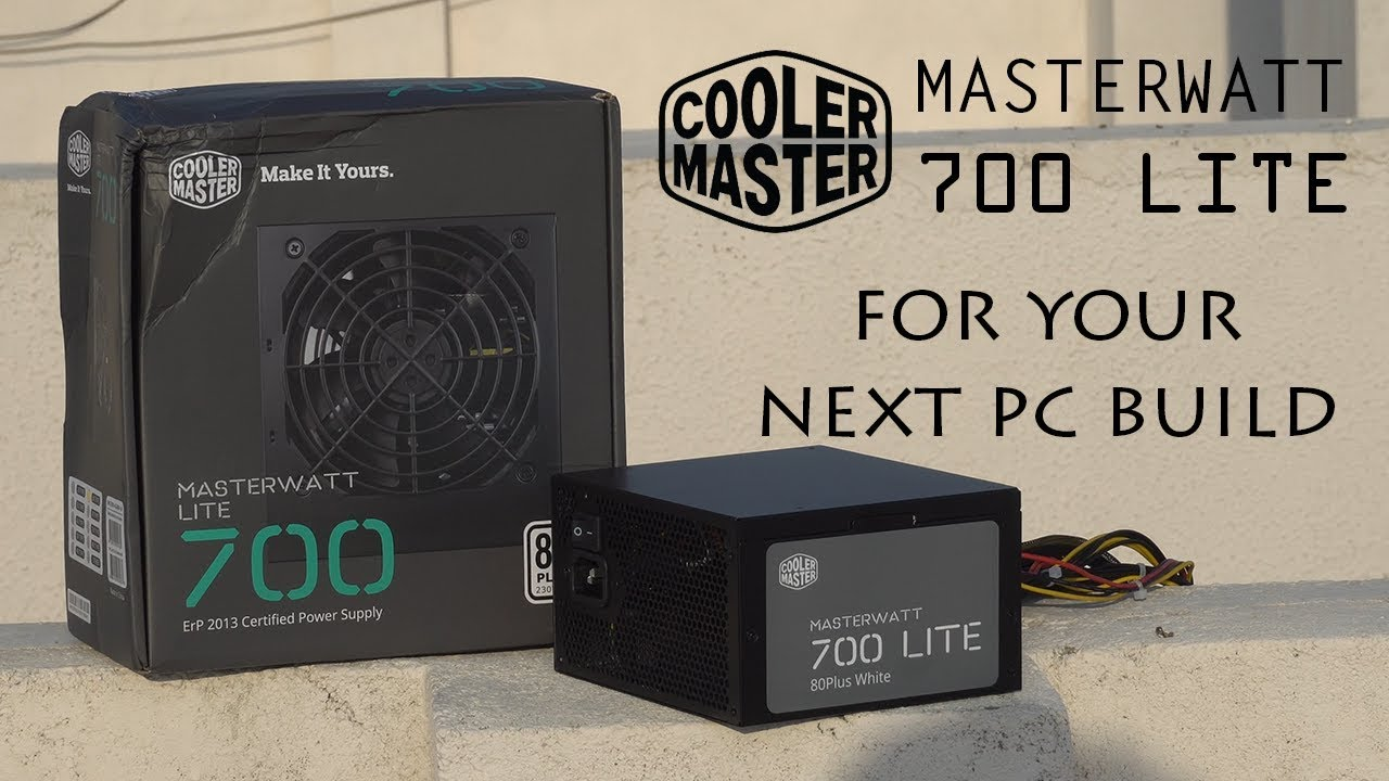 cooler master masterwatt lite 400w review