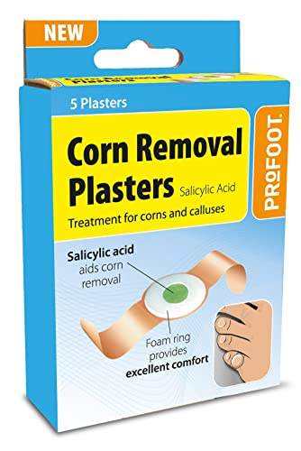 scholl corn removal plasters review