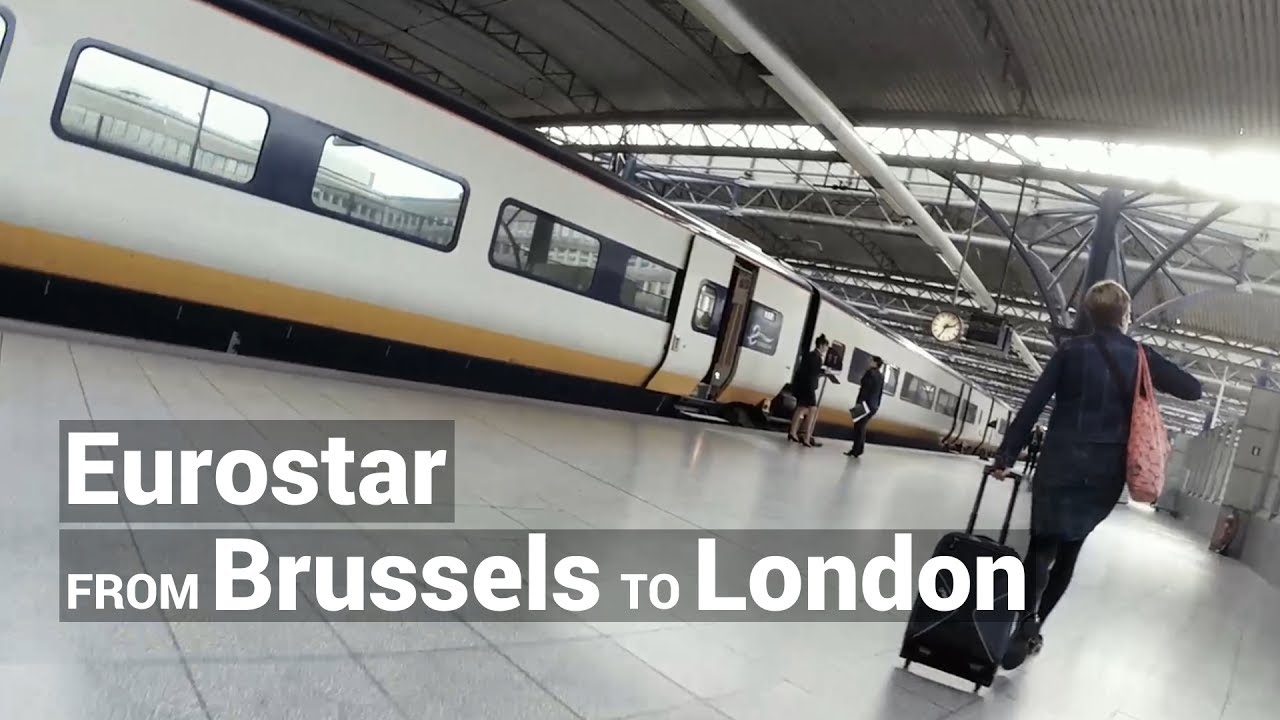 eurostar london to brussels reviews