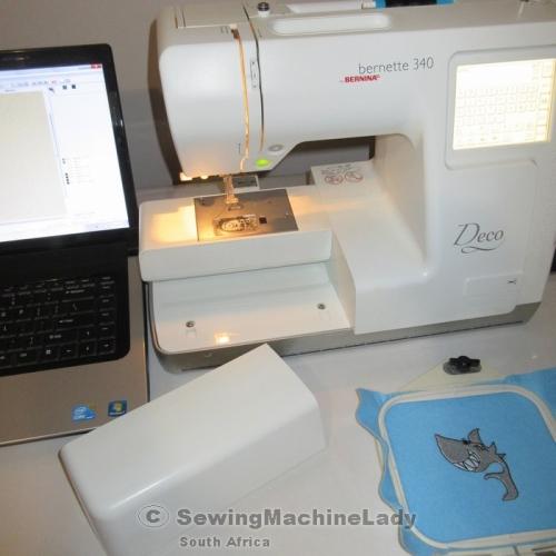 bernina deco 330 embroidery machine reviews