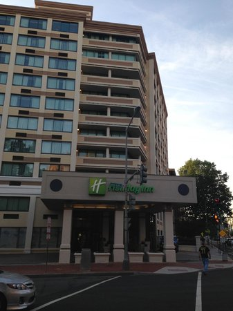 holiday inn washington central white house reviews