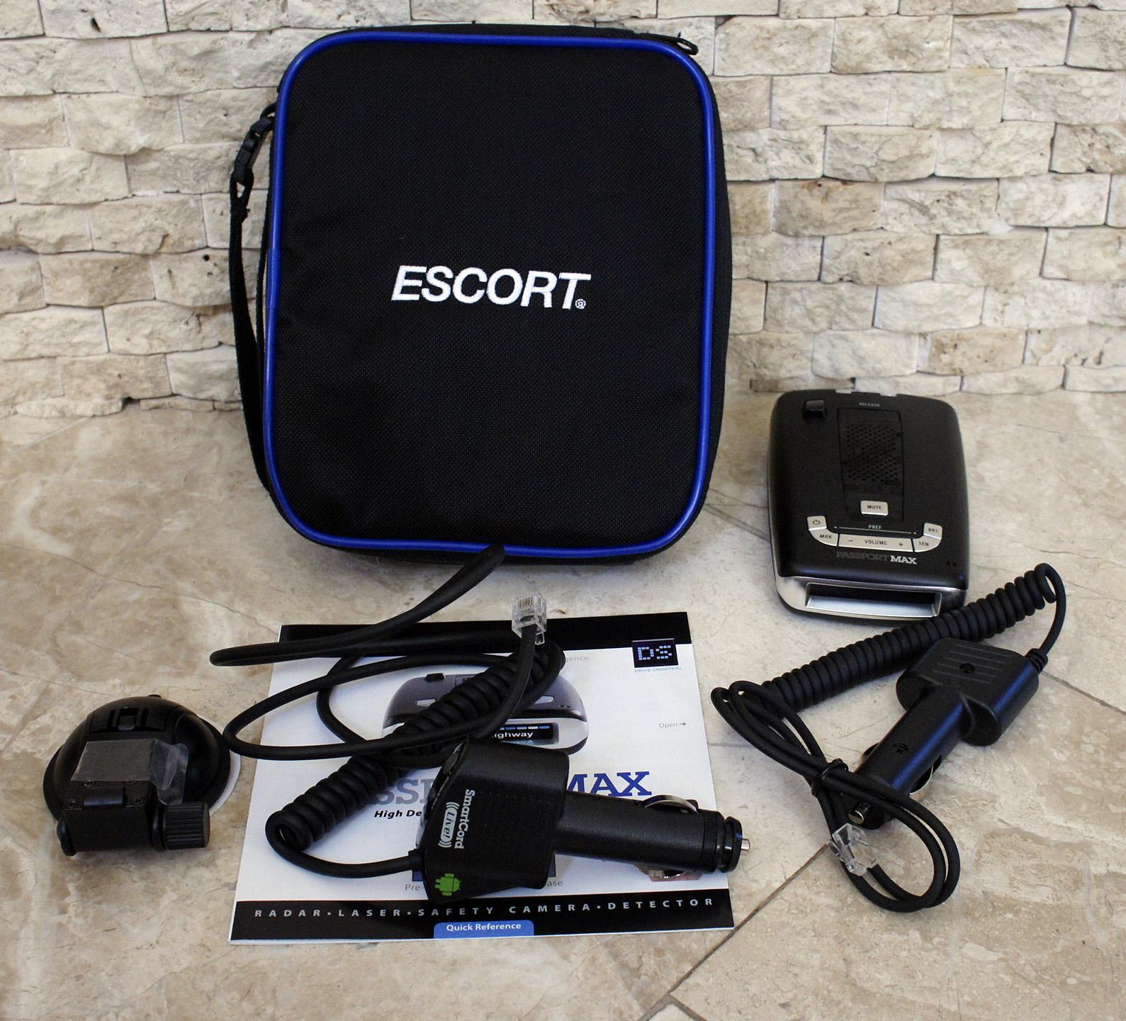escort passport max review 2014