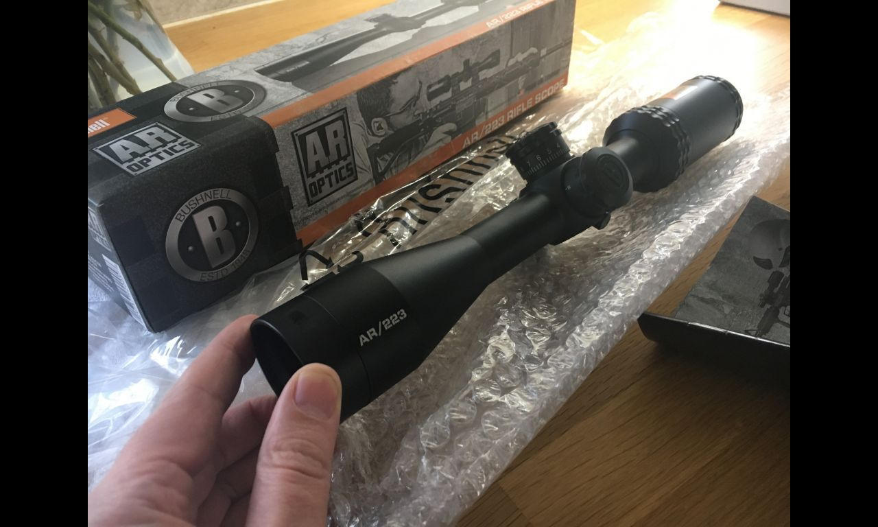 bushnell ar optics 4.5 18x40 riflescope review