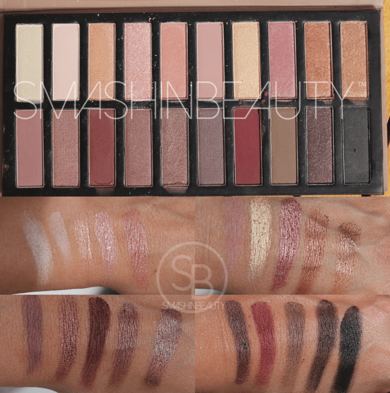 coastal scents eyeshadow palette review