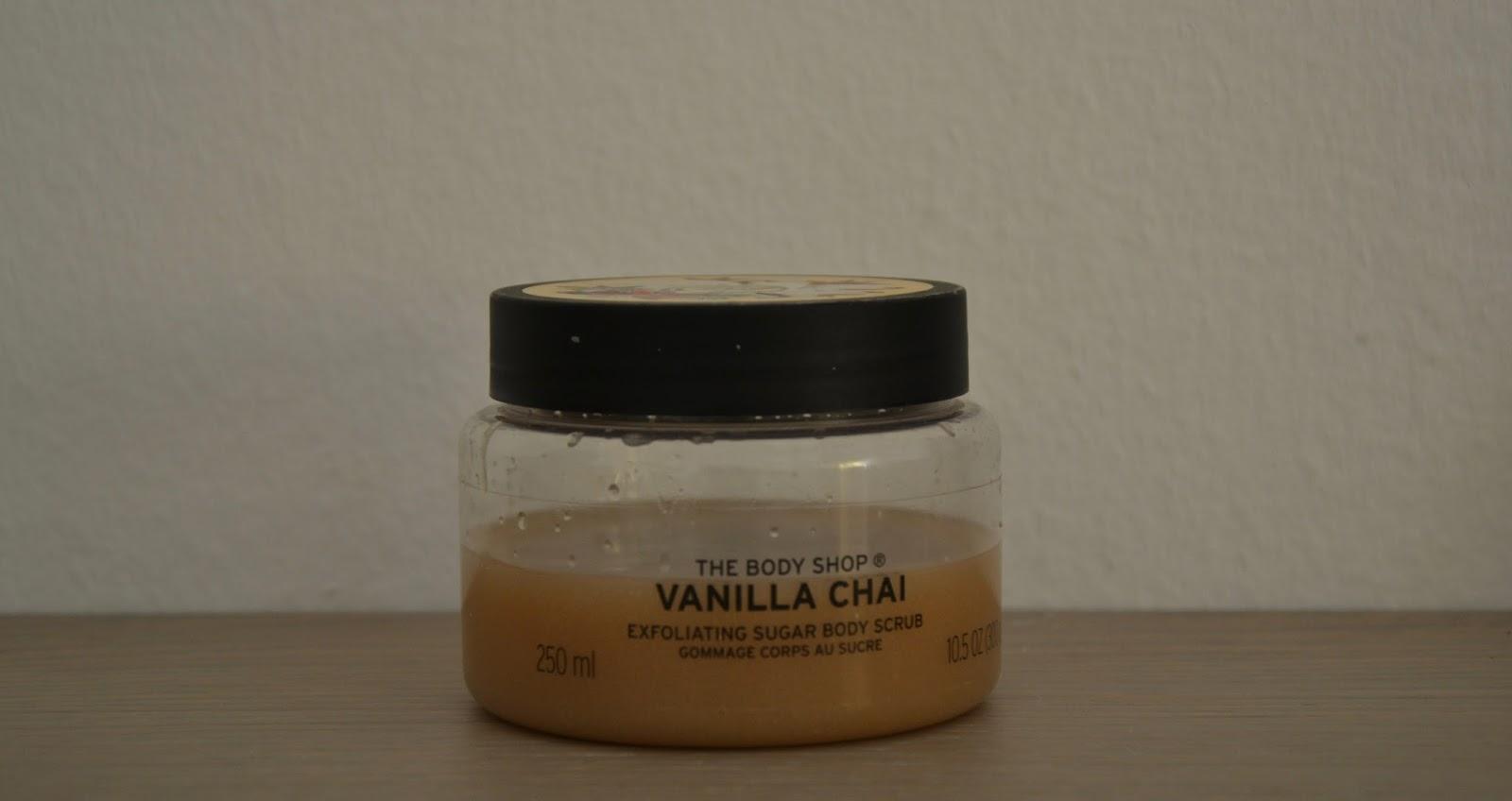 body shop vanilla chai review
