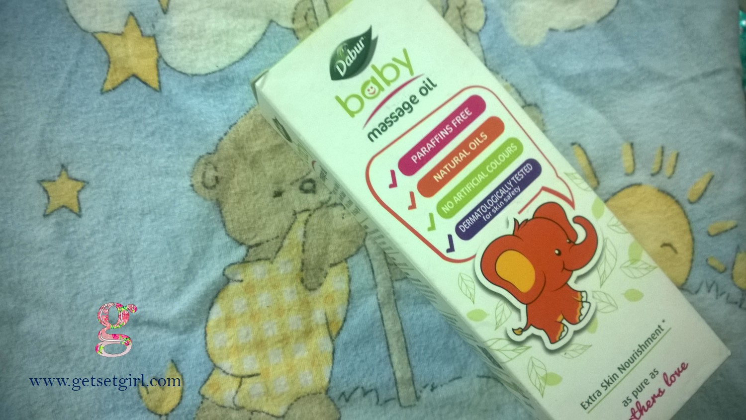 dabur baby massage oil review