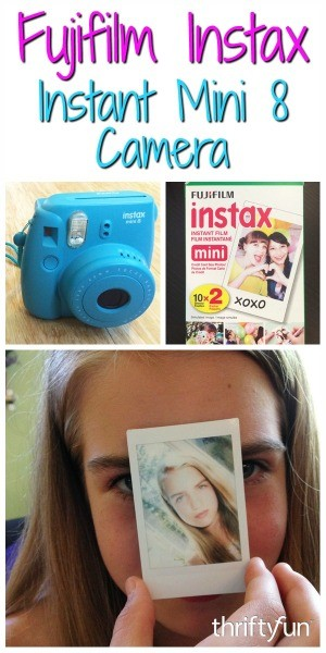 fujifilm instax mini 8 camera review