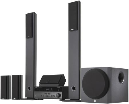 yamaha 5.1 channel home theatre system review