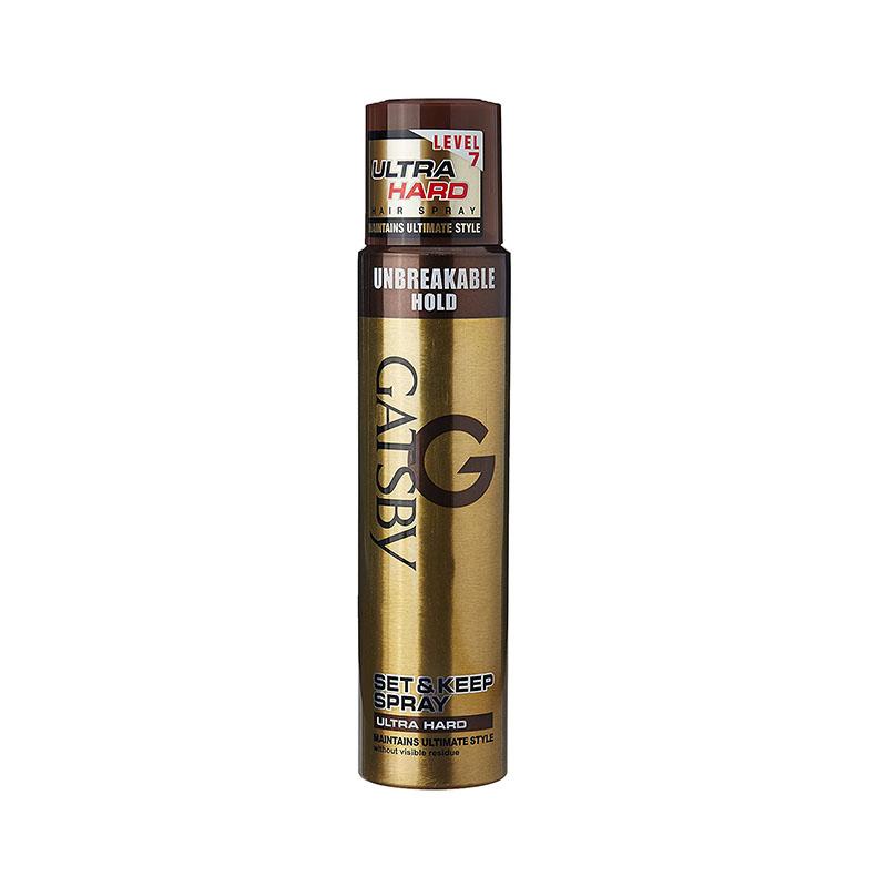 gatsby black hair spray review
