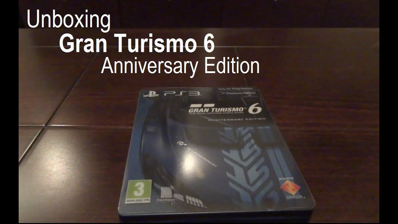 gran turismo 6 anniversary edition review