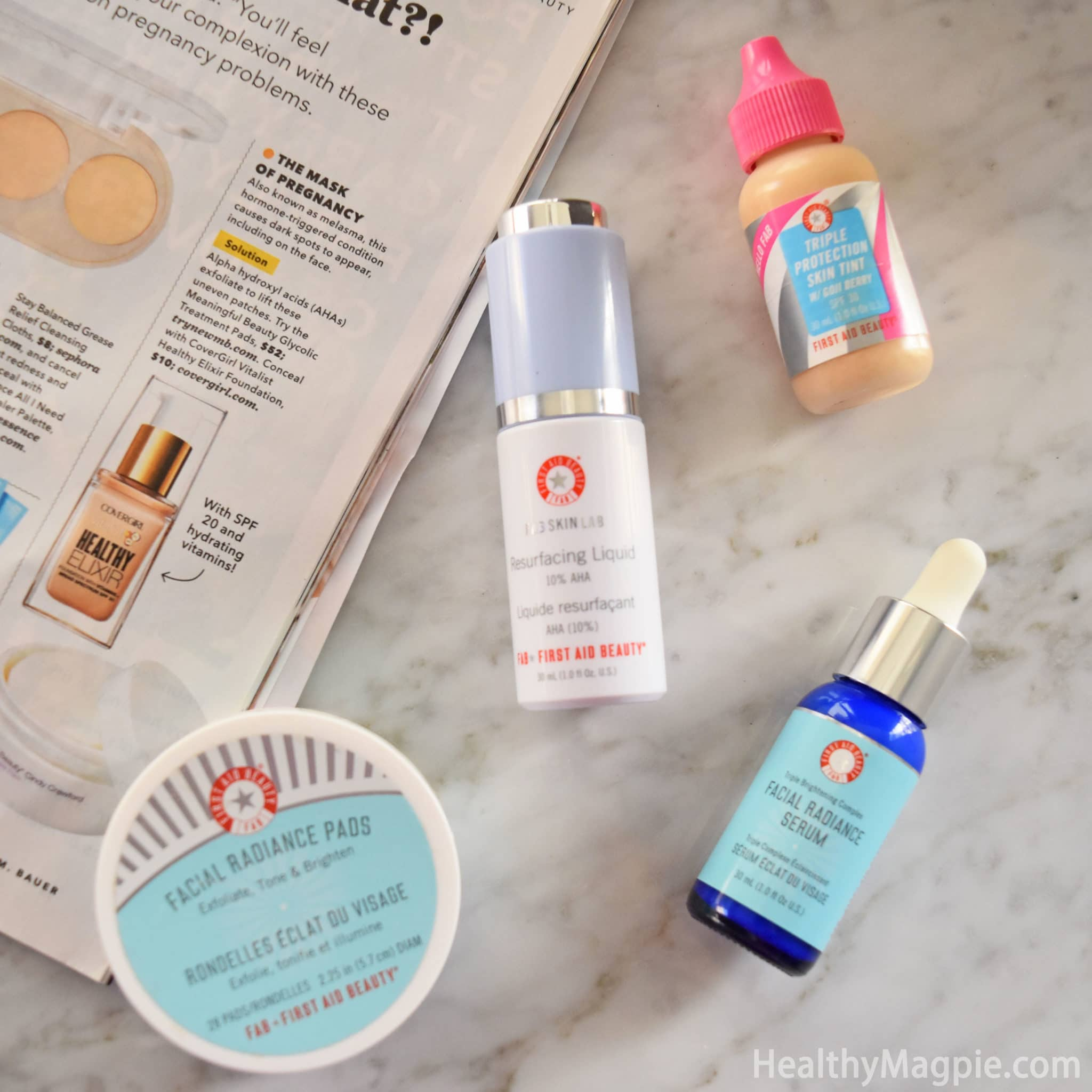 first aid beauty mask review