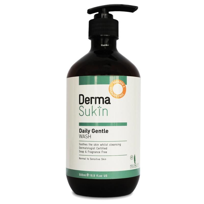 derma sukin daily hydrating wash review