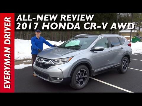 2017 honda crv navigation review