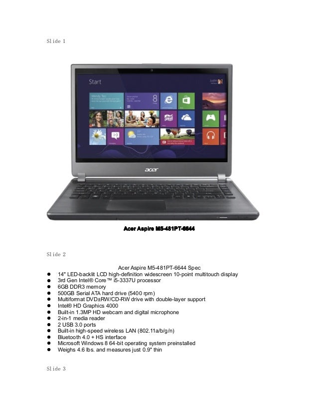 acer 14 inch laptop review
