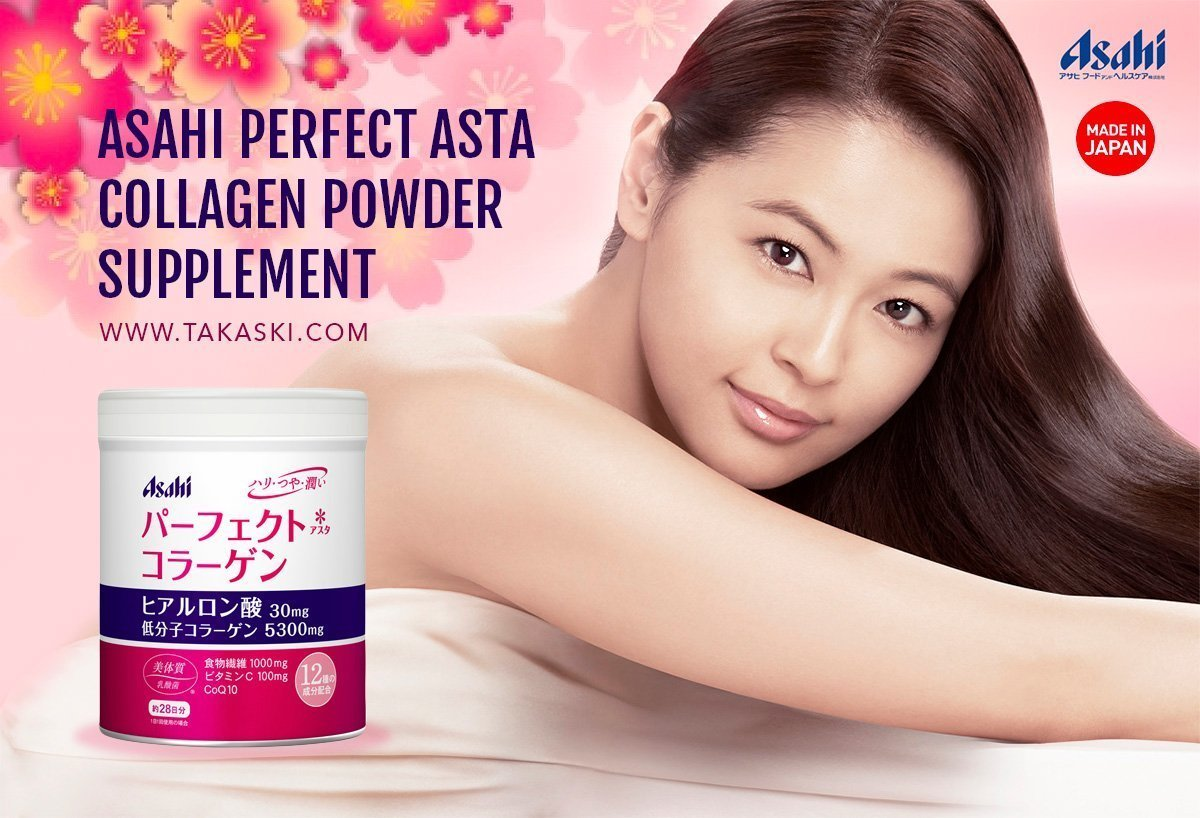 asahi perfect collagen powder review