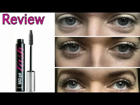 benefit mascara review bad gal