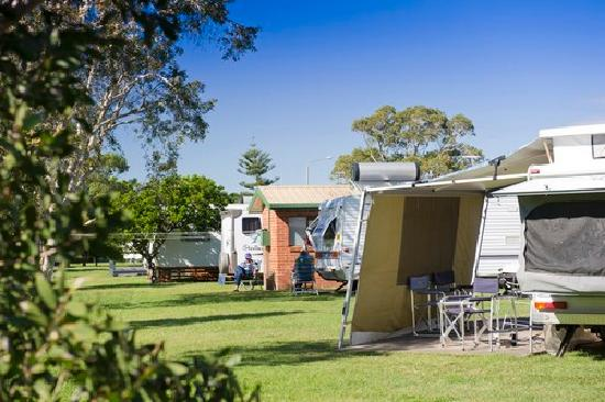 evans head caravan park reviews