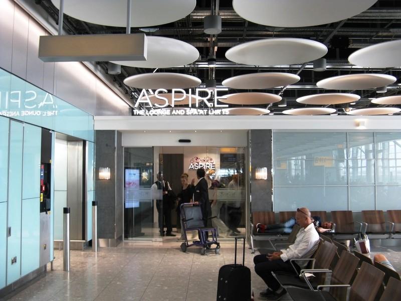 club aspire heathrow terminal 3 review