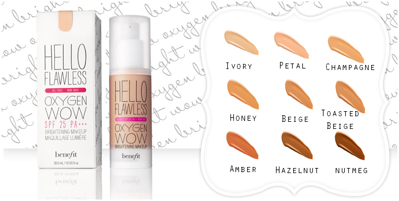 benefit hello flawless oxygen wow foundation review
