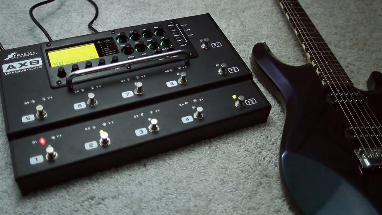 fractal audio axe fx ii review