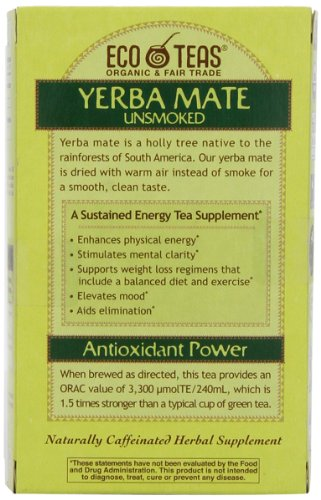 eco teas yerba mate review