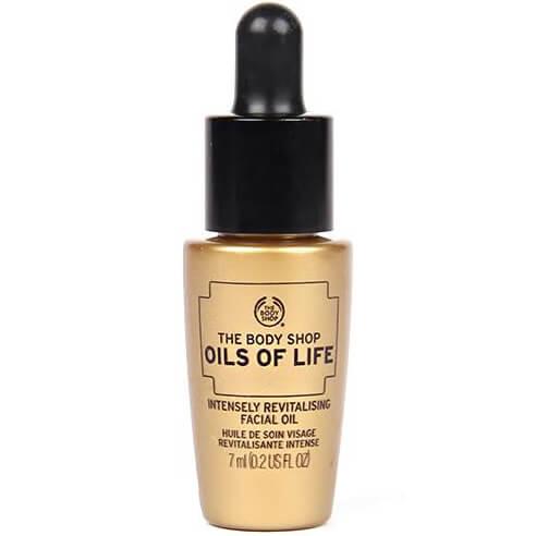 body shop oils of life facial oil review
