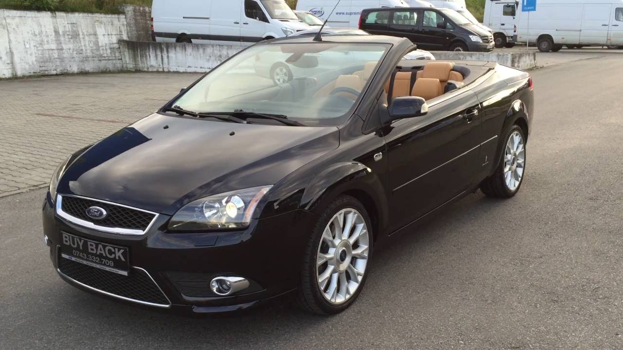 ford focus convertible review top gear