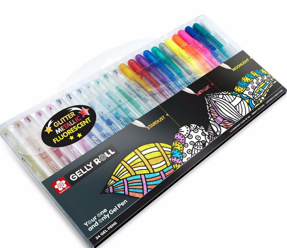 gelly roll glaze pens review