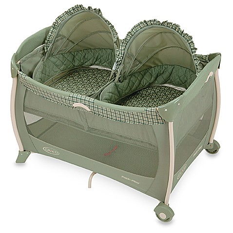 graco pack n play twins bassinet reviews