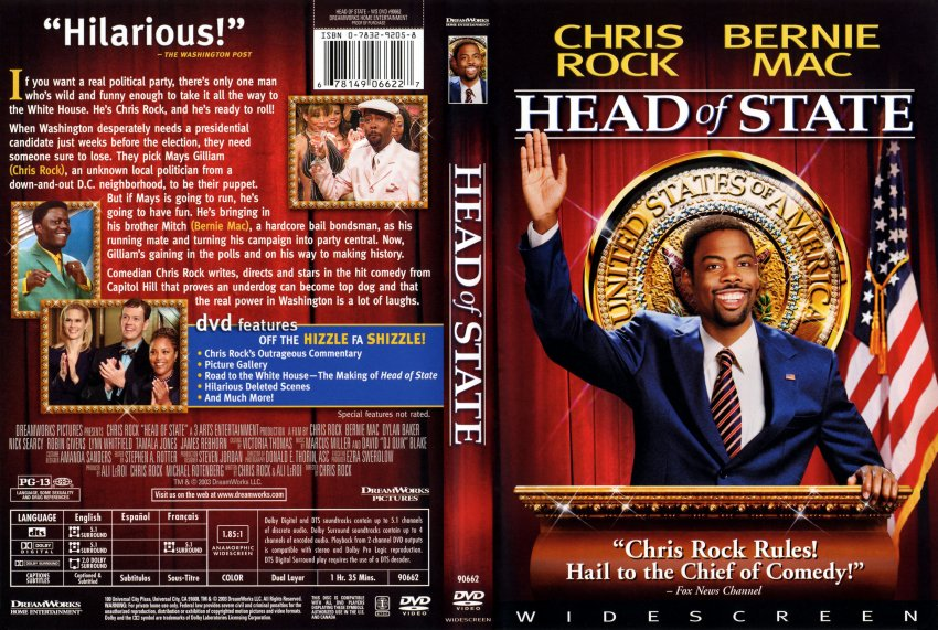 head of state movie review