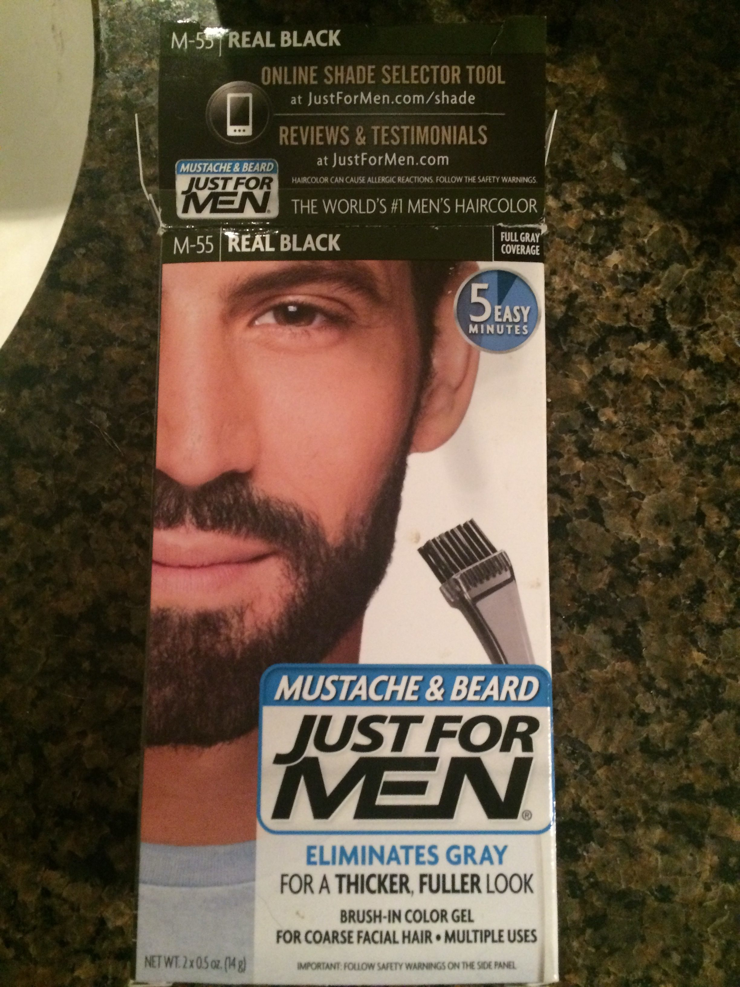 just for men hair color review